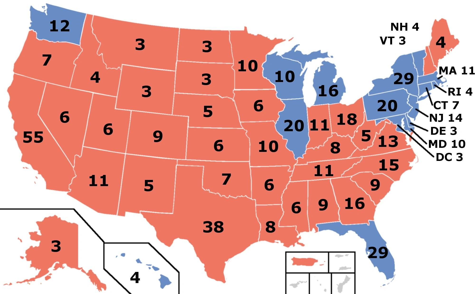 2016 Presidential Election Map Html Autos Weblog
