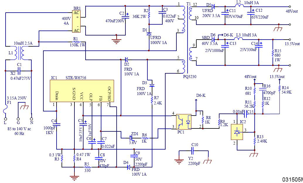 power supply wiring diagram pdf