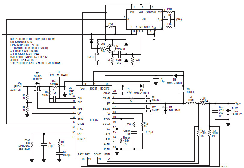 power delay circuit