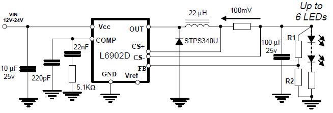 manual adjustable led driver