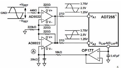 opamp circuit single channel
