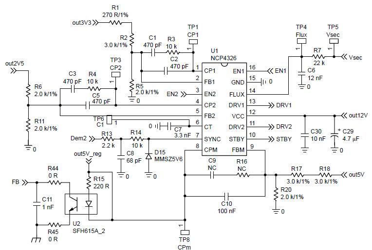 3v and 5v power supply