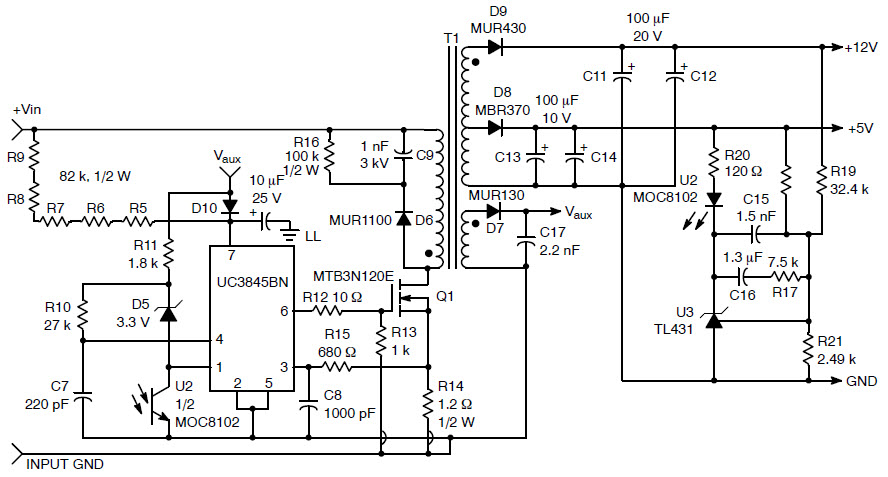 supply adaptor circuit schematic electronic circuits diagram