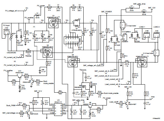 buck converter mppt and charge controller