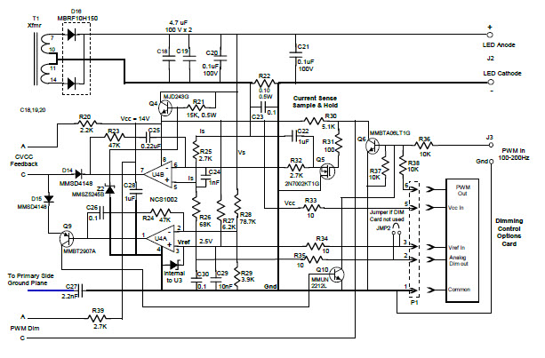 constant voltage and constant current controller