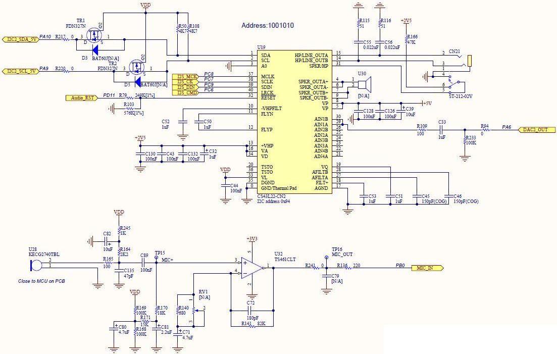 STM32373C-EVAL Reference Design Microcontroller Arrow