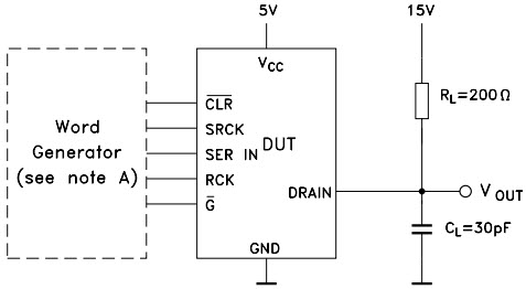 STPIC6C595_Typical Application Reference Design General LED Driver