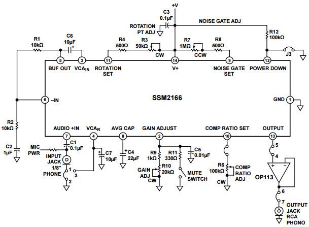 SSM2166 Reference Design Audio Power Amplifier Arrow