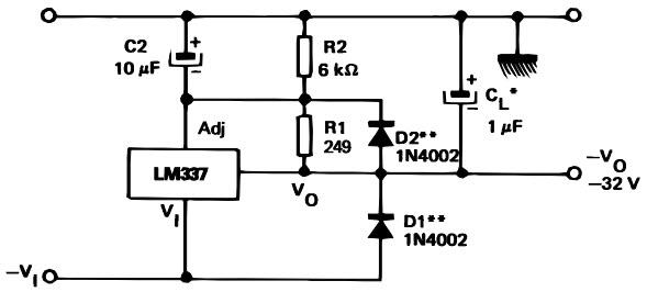 voltage linear regulator circuit electronic circuits 8085