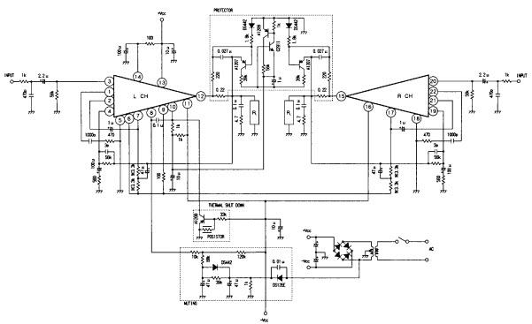 amplifier wire diagram