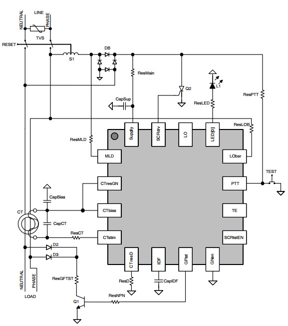 how to wire gfci circuit