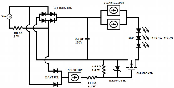 DN05022/D Reference Design Dimming LED Driver Arrow