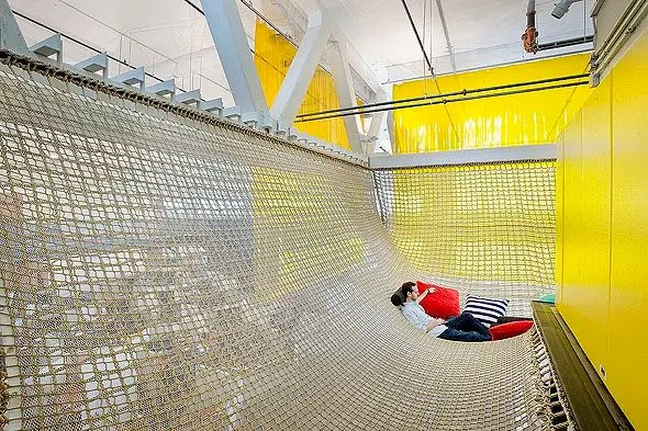 Who says the Googleplex is the best Google office? Google Pittsburgh has this sweet hammock.