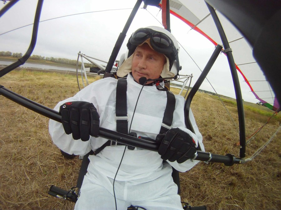 He also attempted to help endangered Siberian cranes begin their migration routes by assisting them with a motorized hang glider.