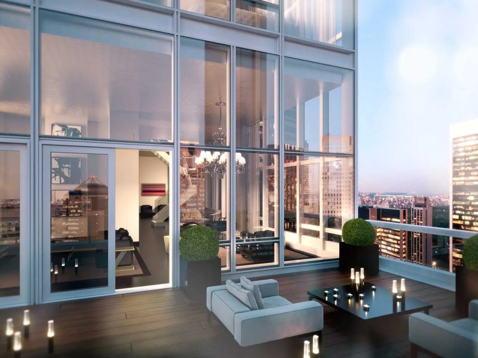 So Living Tabourets De Bar Manhattan House Of The Day An Unfinished Penthouse In Manhattan Is