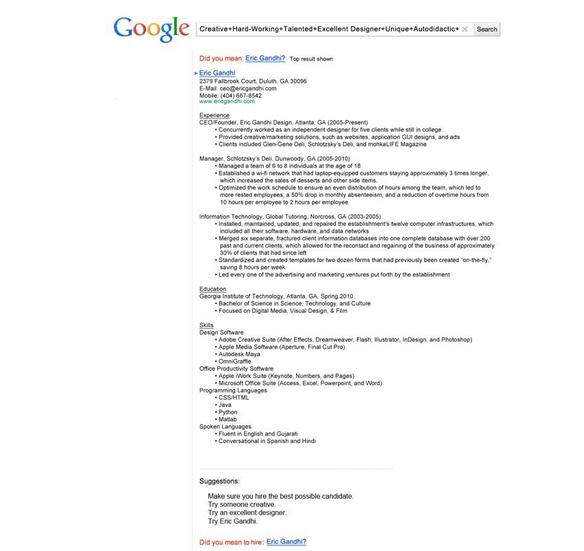 cool resume templates google doc