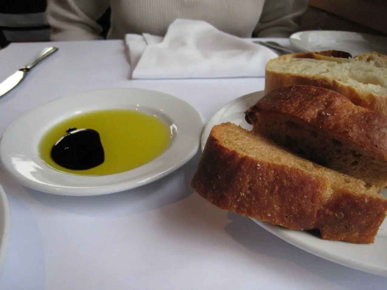 Swap for butter and margarine: Olive oil