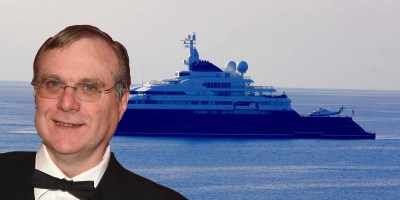 Photos of Paul Allen's yacht party at Cannes - Business Insider
