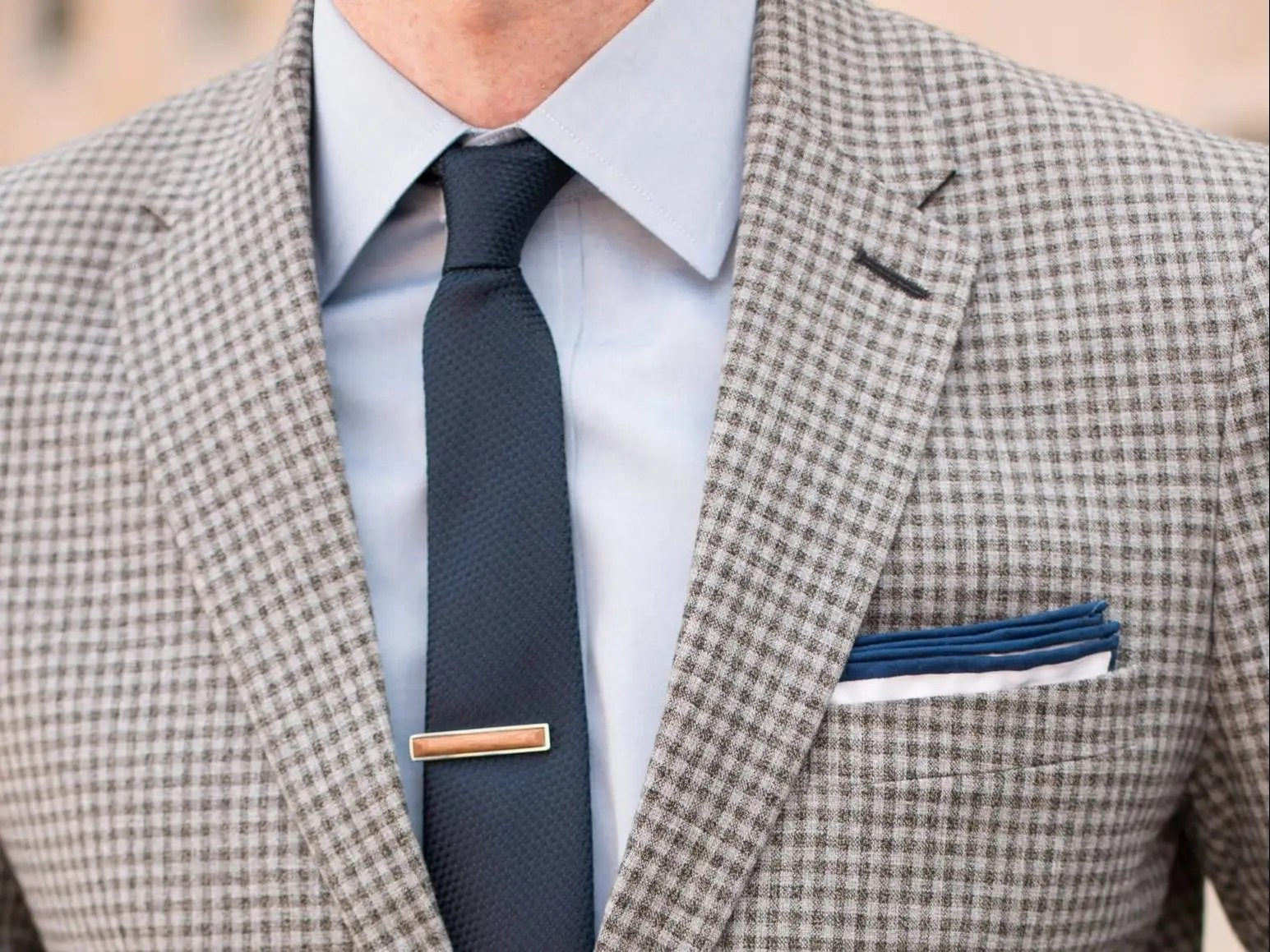 The right way to wear a skinny tie