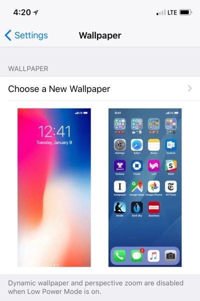 iPhone X wallpaper hides the notch - Business Insider
