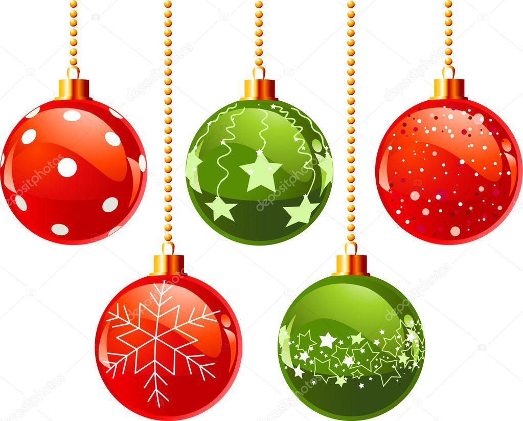 3d Xmas Tree Live Wallpaper Color Christmas Balls Stock Vector 169 Dazdraperma 4425447