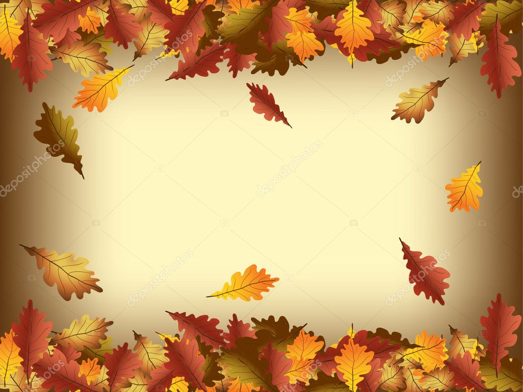 Falling Leaves Hd Live Wallpaper Autumn Background Stock Vector 169 Hitdelight 4083280