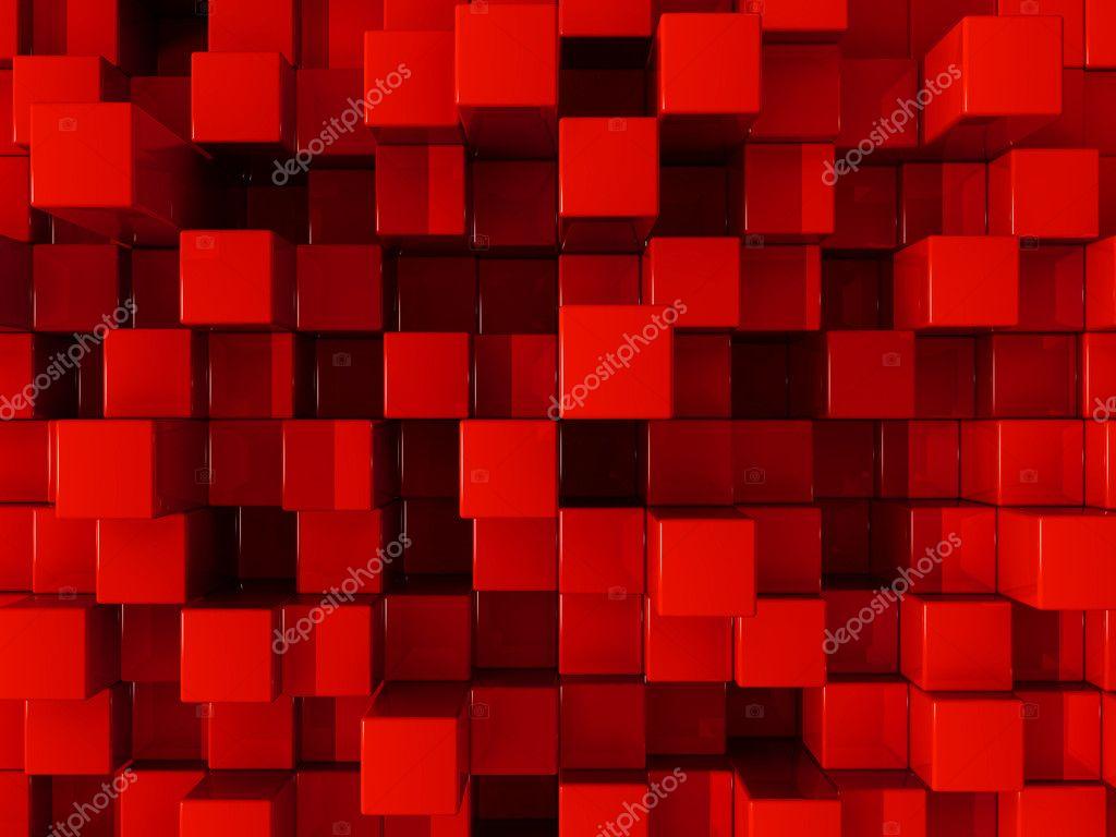Black 3d Brick Wallpaper Red Blocks Background Stock Photo 169 Rangizzz 4081920