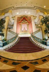 Modern Thai stair in wide angle  Stock Photo  topstep07 ...