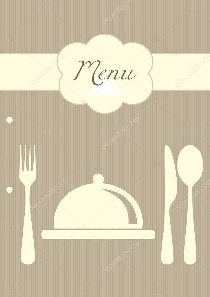 Vector restaurant menu background \u2014 Stock Vector © zphoto #4486223