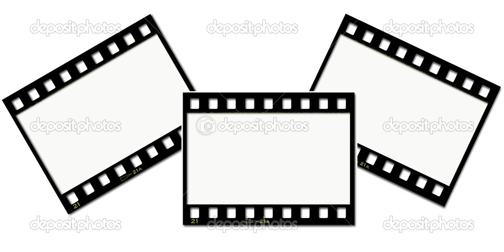 Film strips \u2014 Stock Photo © kjpargeter #4385712