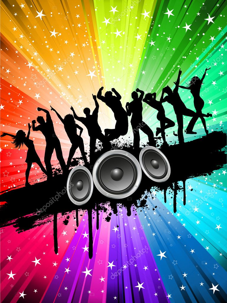 party background for flyers yglesiazssa