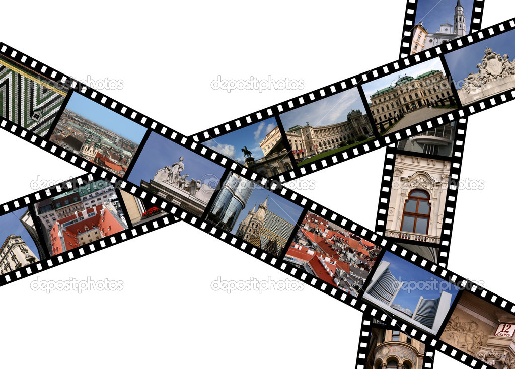 Filmstrips \u2014 Stock Photo © tupungato #4531979
