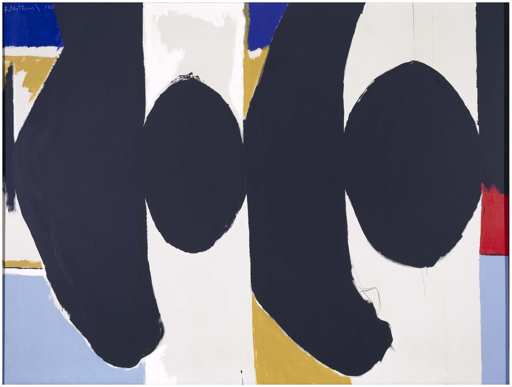 La Arte In Spanish Robert Motherwell Threatening Presence Elegy To The Spanish