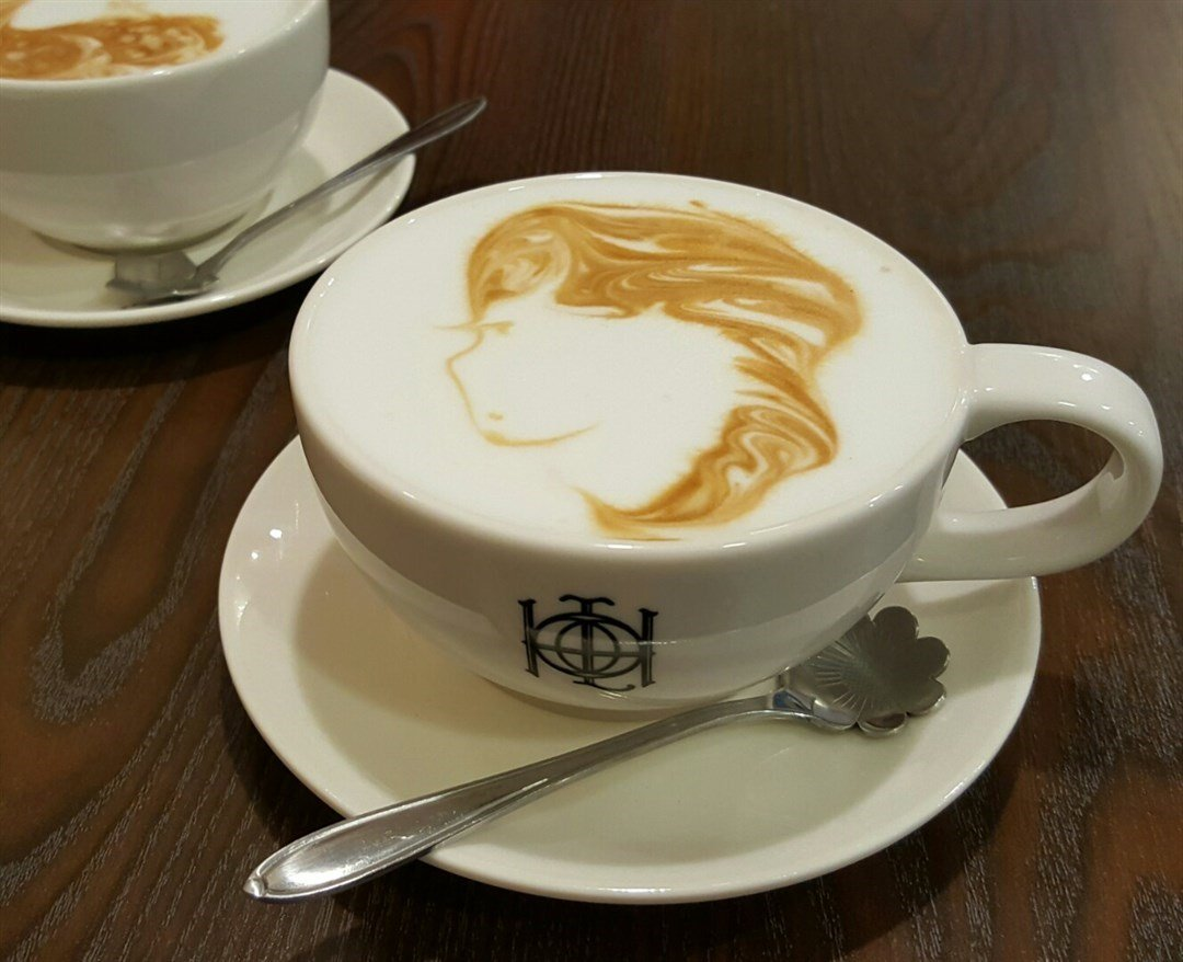 Coffeeholic Openrice Flat White Long Hair Girl Coffeeholic S Photo In Sheung Wan