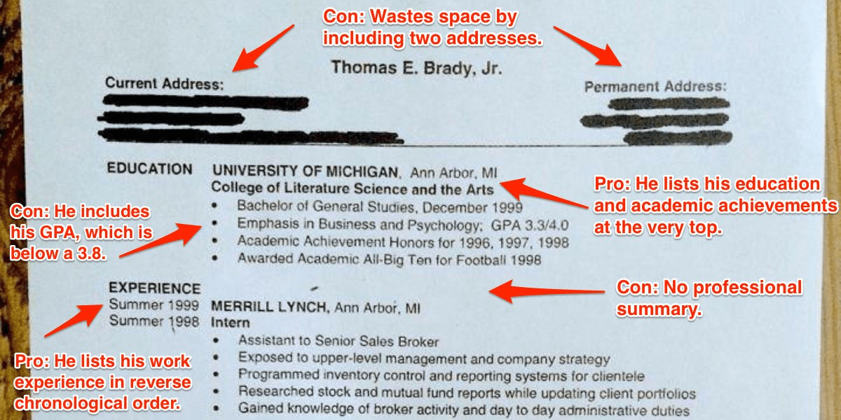 How to improve your résumé - Business Insider - what should your resume look like