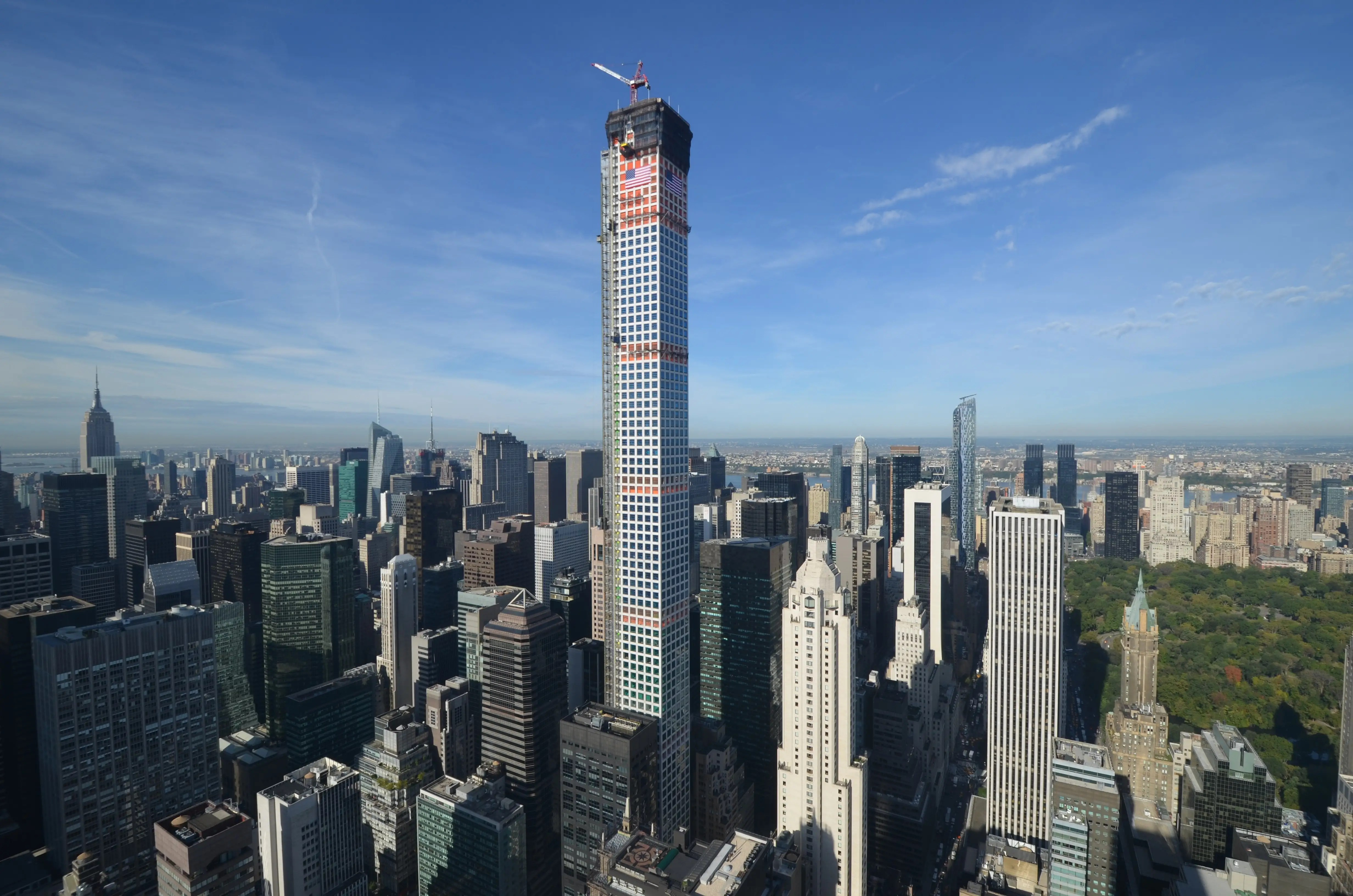 Tallest Residential Building Nyc Views From Top Of 432 Park Avenue Business Insider