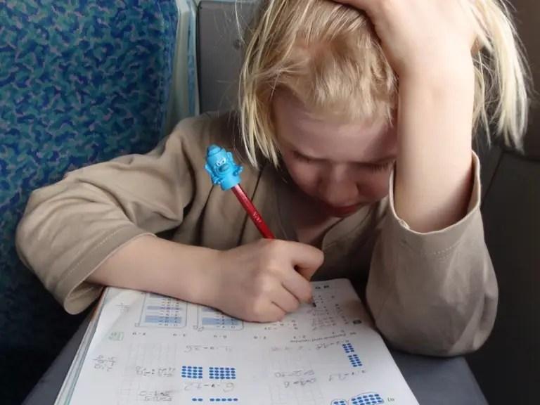 6. Theyteach their kids math early on.