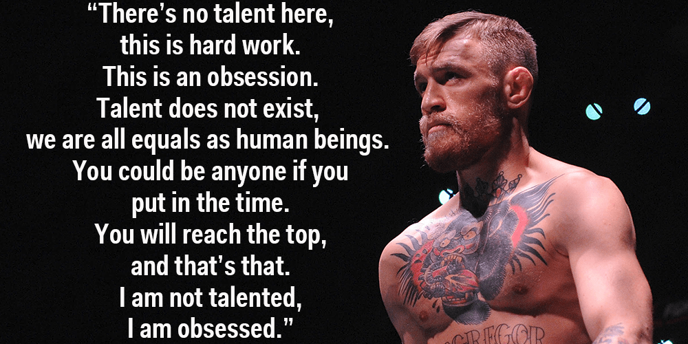 Connor Mcgregor Quote Wallpaper Ufc Champion Conor Mcgregor On What It Takes To Be