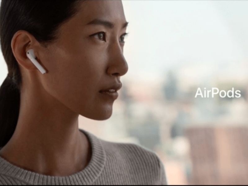 Apple Iphone X Wallpaper From Commercial Apple Airpods Already Getting Complaints Business Insider
