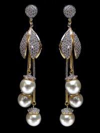 Online Diamond Earrings Yellow Gold 0 51 Carats Citrine ...
