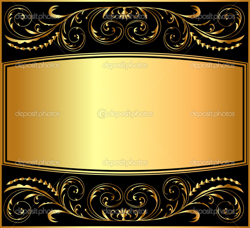 Islamic Wallpaper Hd 3d Illustration Background Pattern Gold Stock Vector
