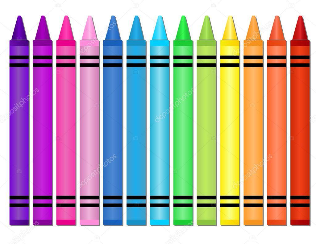 Cute Ribbons Wallpaper Crayons Stock Vector 169 Adamsl 6349460