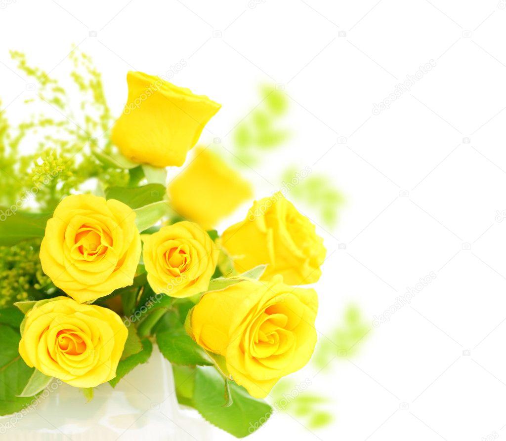 Wallpaper Hd Floral 新鲜玫瑰边框 图库照片 169 Anna Om#5520696