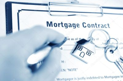 Mortgage contract — Stock Photo © lucianmilasan #6638583