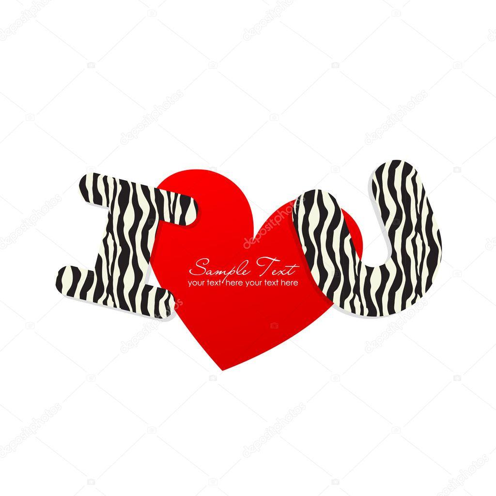 I love you sticker stock vector 169 irinabutusova 6438061