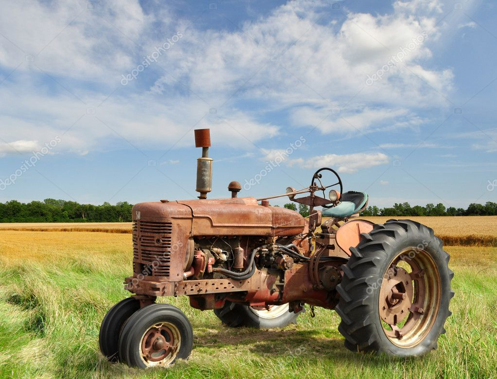 All Cars Symbols Wallpaper Vintage Tractor Stock Photo 169 Svetas 6582942