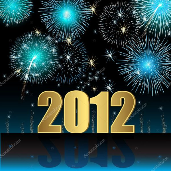 Happy New Year 2012  Stock Vector. 1024 x 1024.Google Happy New Year Pictures