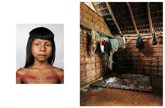 Ahkohxet, 8, είναι μέλος της Kraho φυλή, οι οποίοι ζουν στη λεκάνη του ποταμού Αμαζονίου στη Βραζιλία. Η φυλή αυξάνεται και το κυνήγι για όλα τα τρόφιμα της.