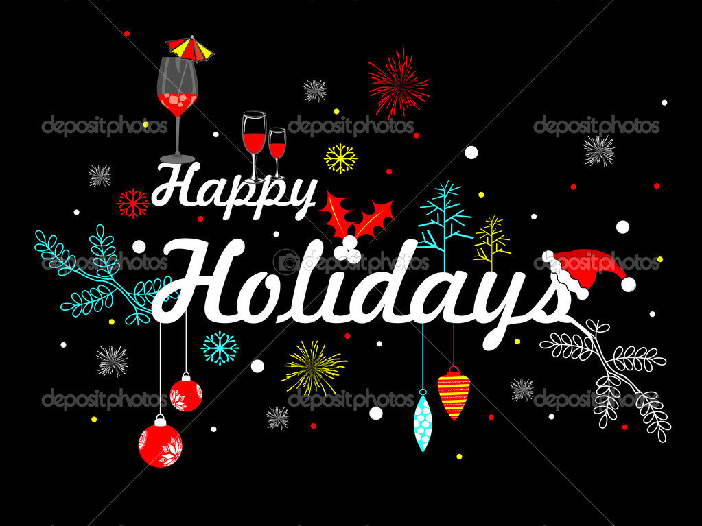 Happy holidays background Stock Vectors, Royalty Free Happy holidays - free images happy holidays