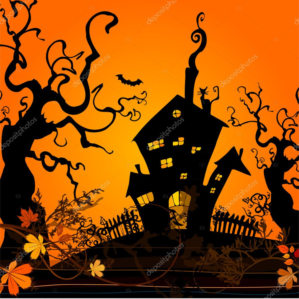 Cute Pumpkin Wallpaper Cute Halloween Illustrated Background Stock Photo 169 Re